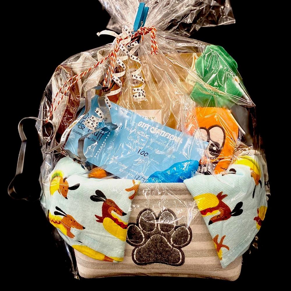 Puff & Fluff Gift Basket