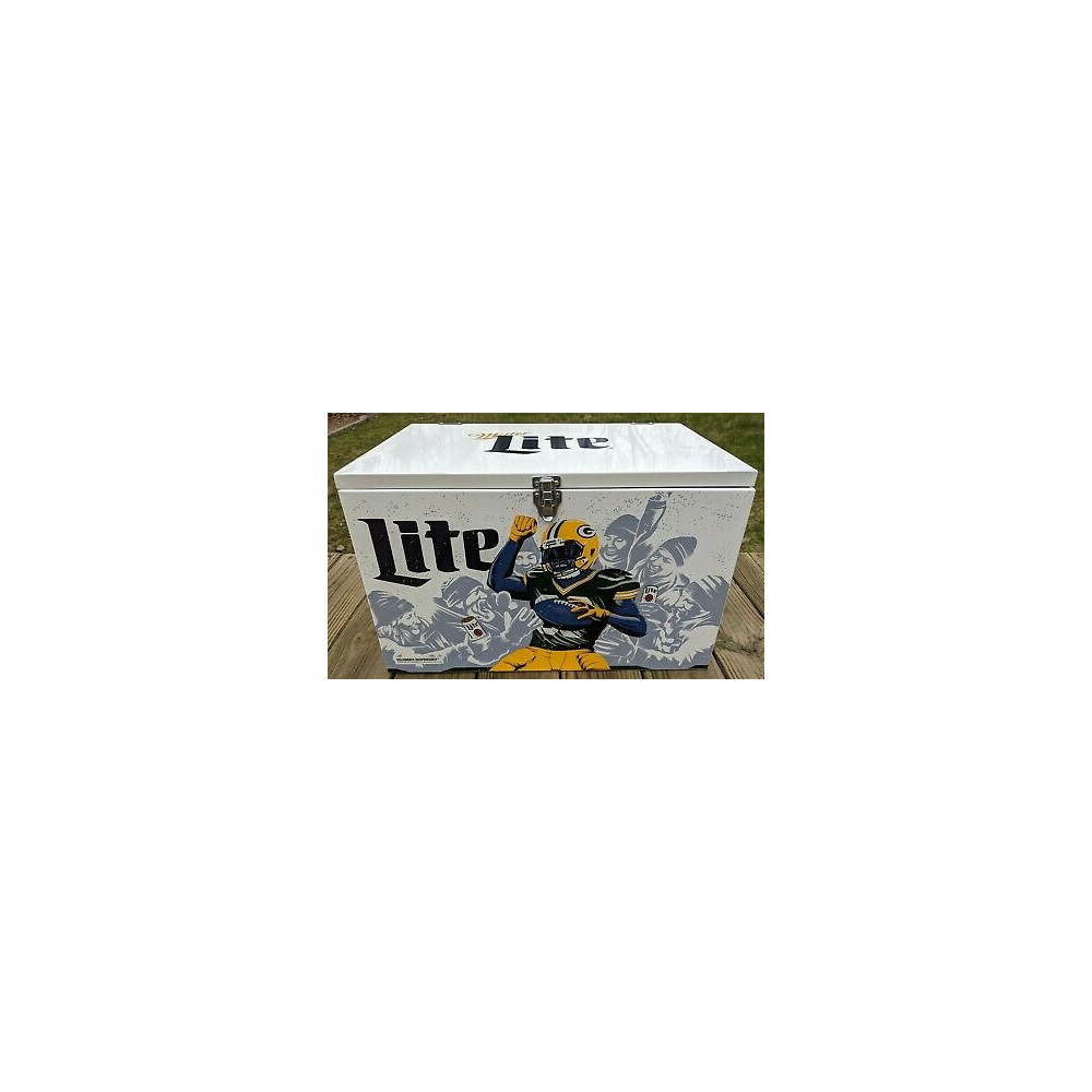 Miller Lite Packers Ice Box Cooler