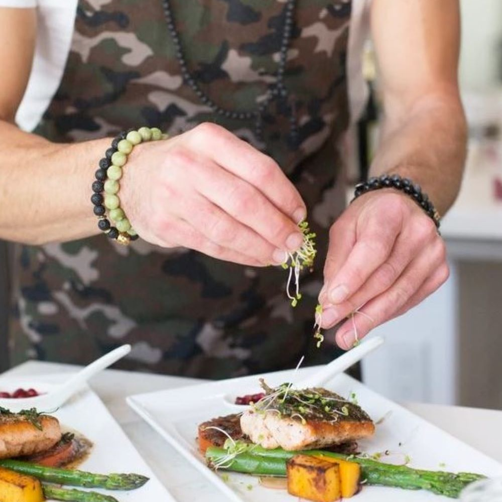 One Private Dinner for 10 with Professional Chef Paul Lindsay