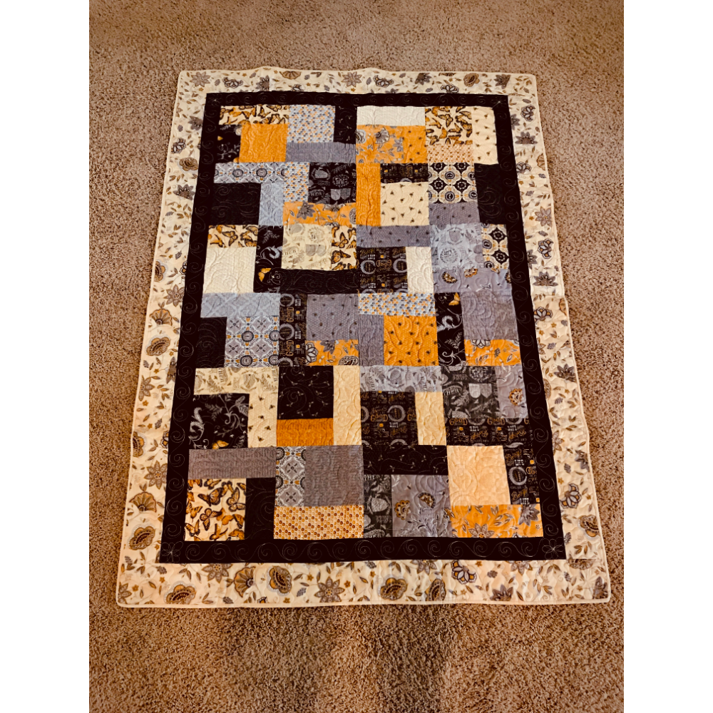 Butterfly and Bee Quilt