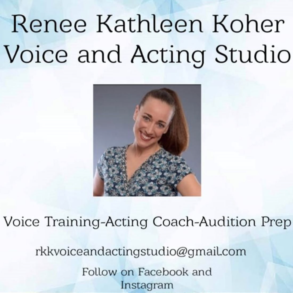 Voice Lessons with Renee Koher of RKK Voice and Acting Studio