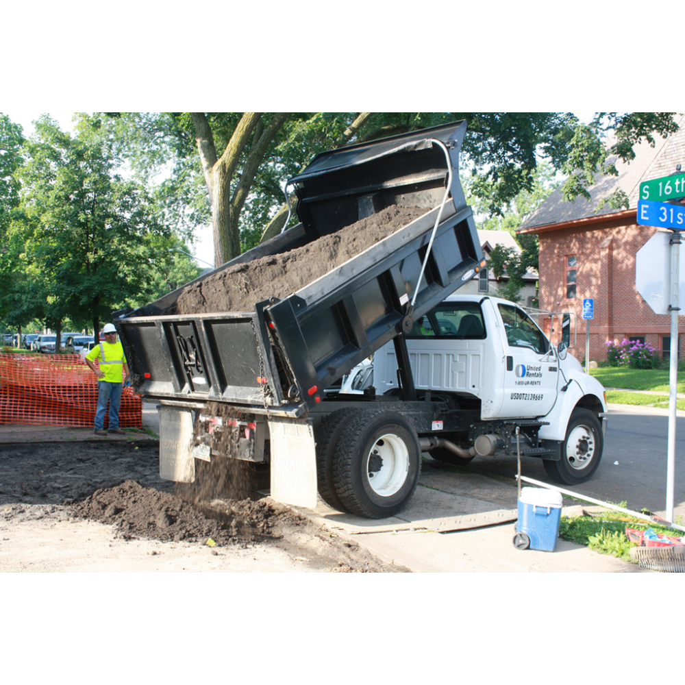 25-Ton Load of Sand, Stone, or Topsoil Delivered