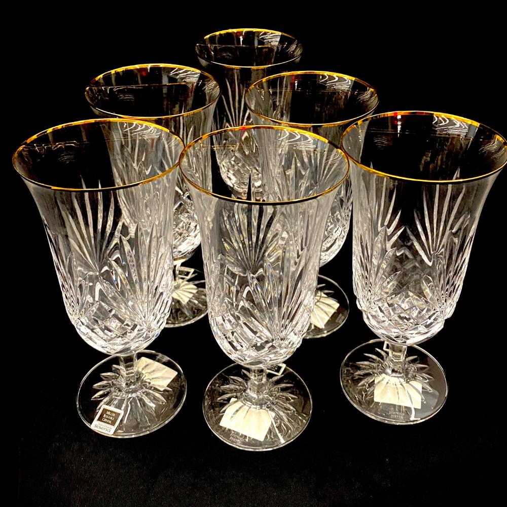 Crystal Iced Tea Goblets (Set of 6)
