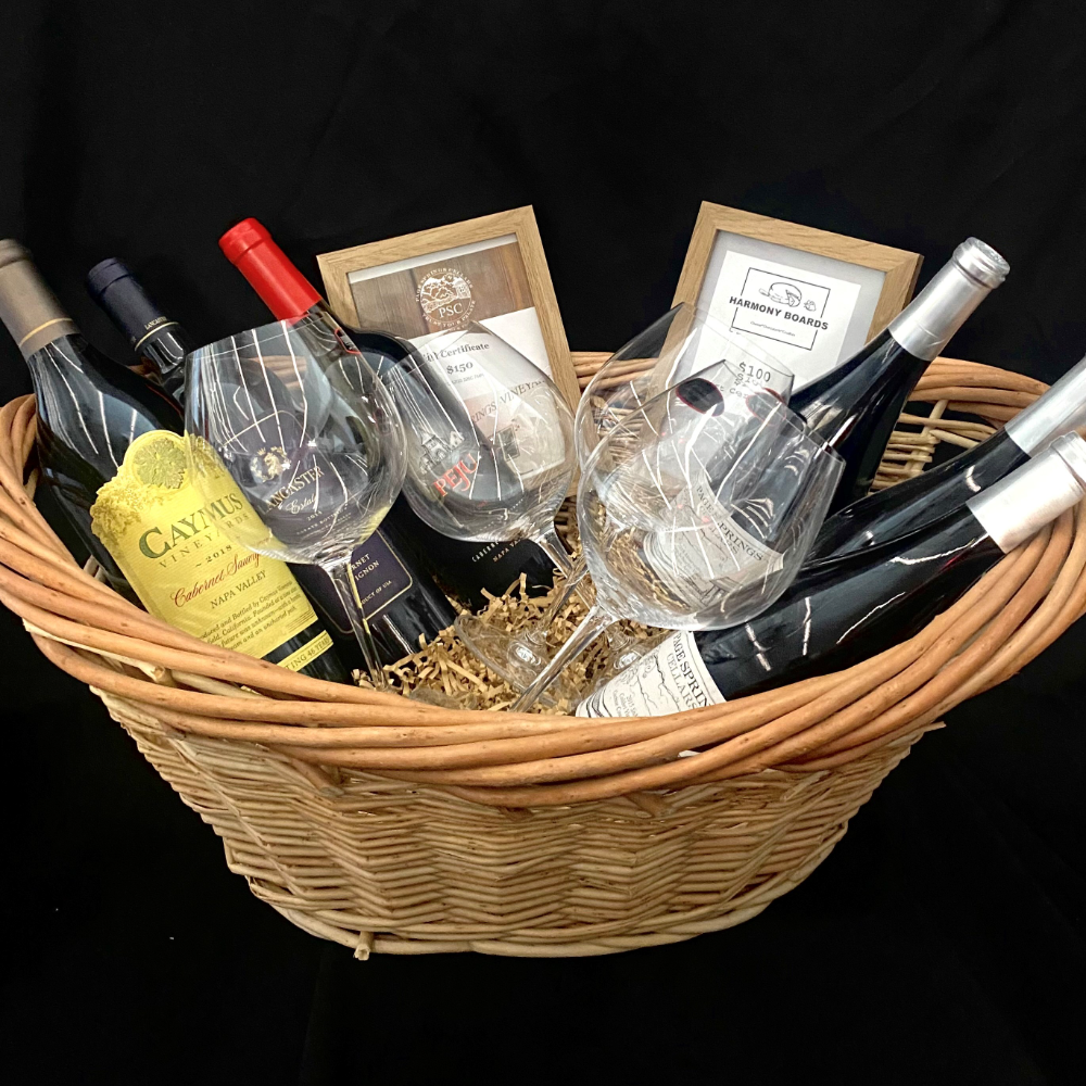 Wine and Charcuterie Basket