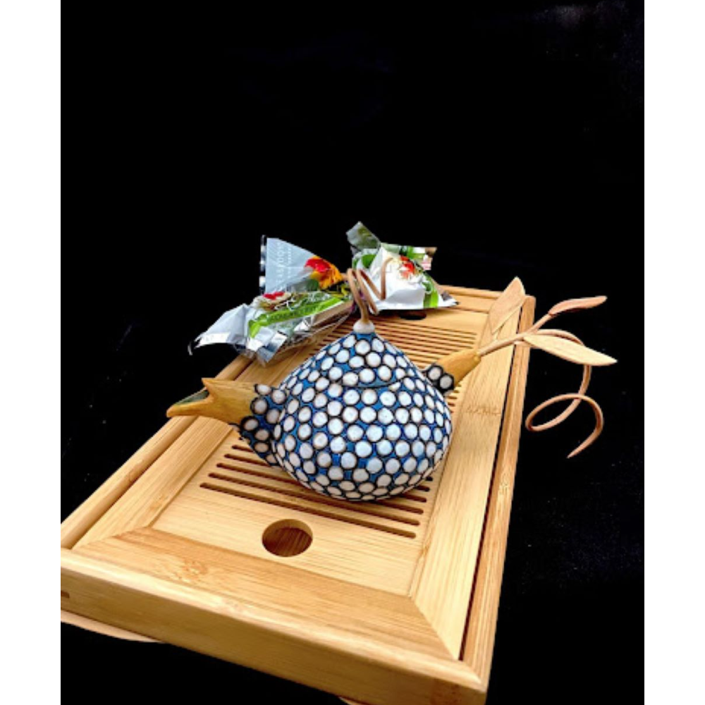 Handmade Ornate Decorative Teapot
