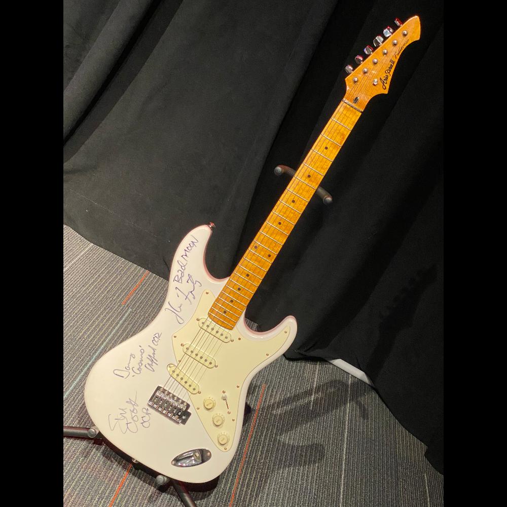 John Fogerty & CCR Autographed Guitar