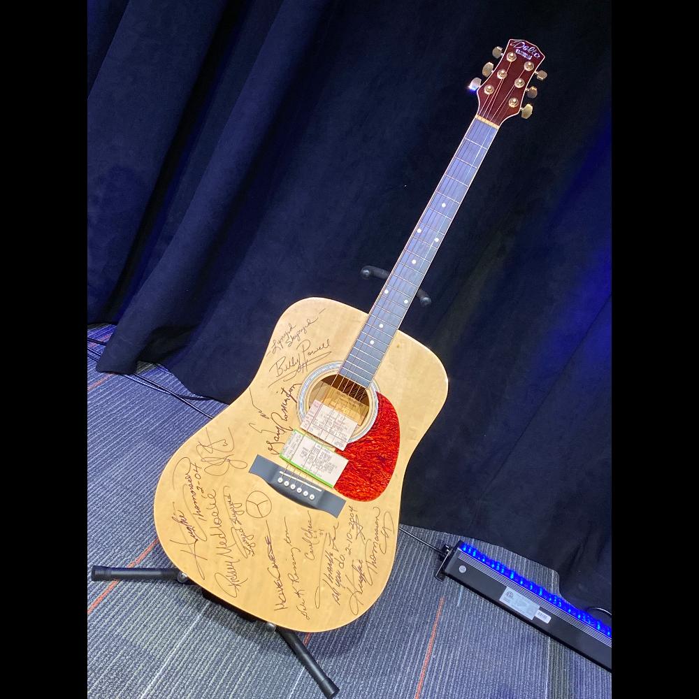 Lynyrd Skynyrd Autographed Guitar