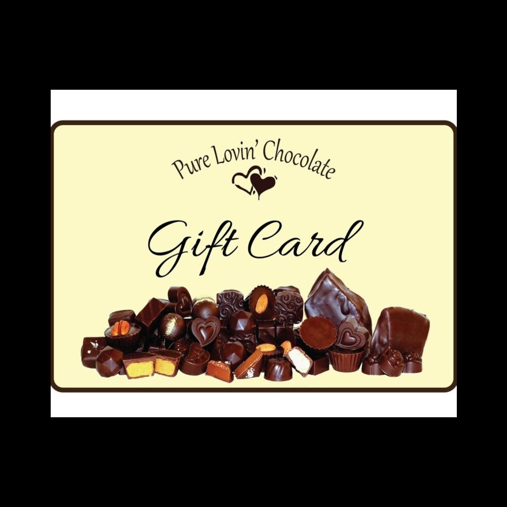 $100 Gift Certificate - Pure Lovin' Chocolate