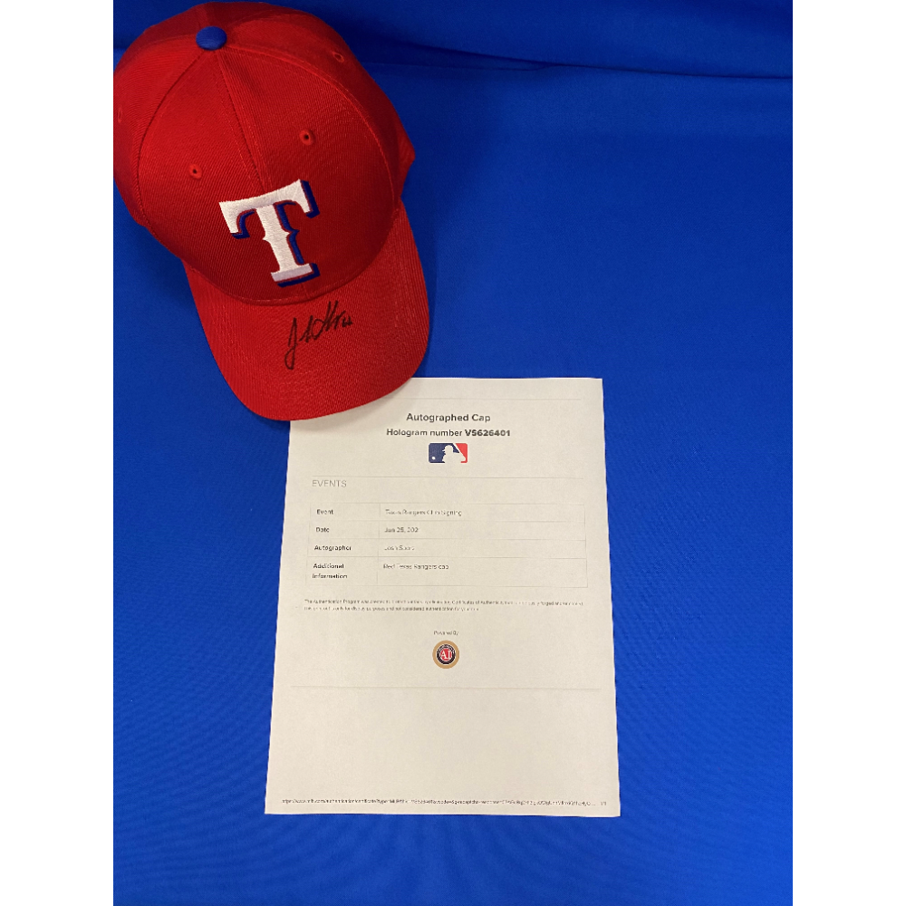 Texas Rangers Josh Sborz Hat