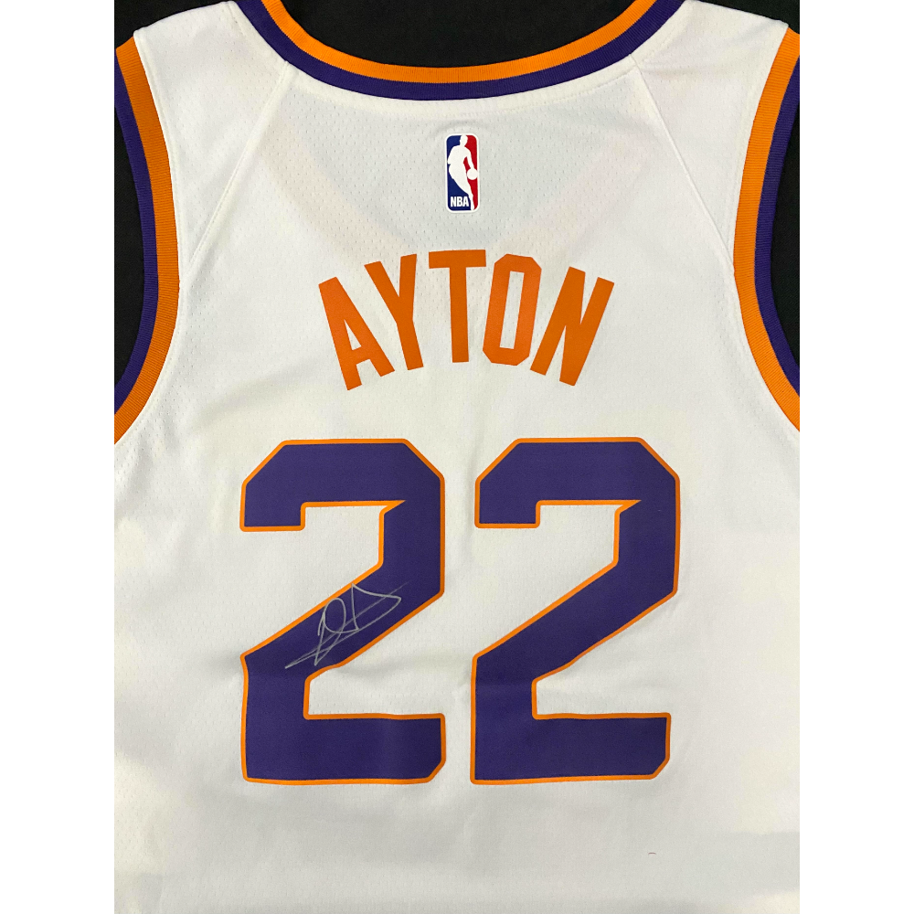 Deandre Ayton Signed Jersey with Certificate of Authenticity