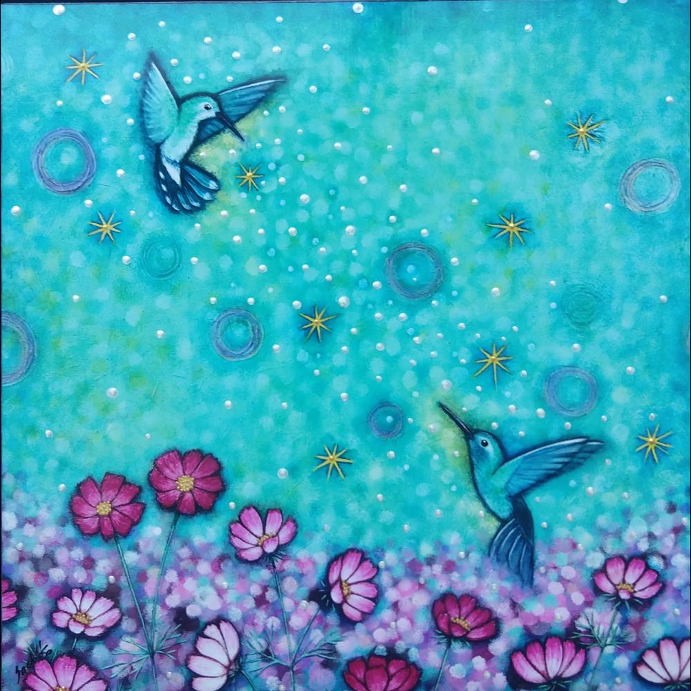 """Bond of Harmony"" batik print"