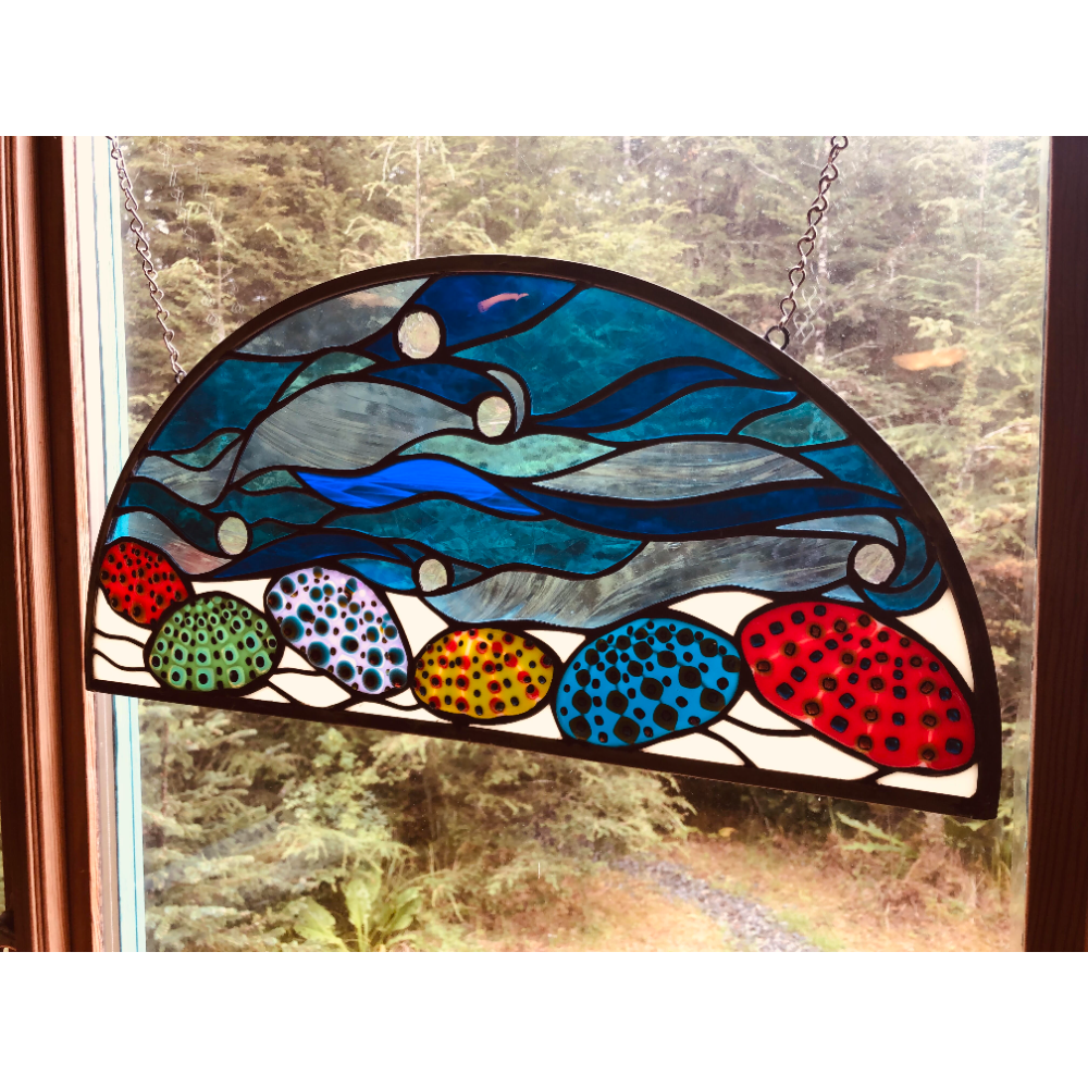 Stained Glass Urchins