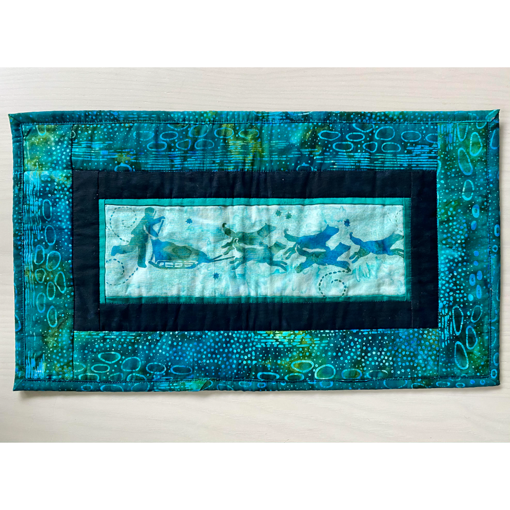 Quilted Arctic Scene Wall Hanging