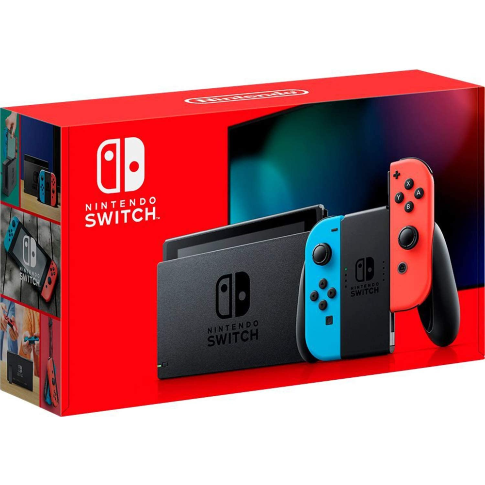 Nintendo Switch package!