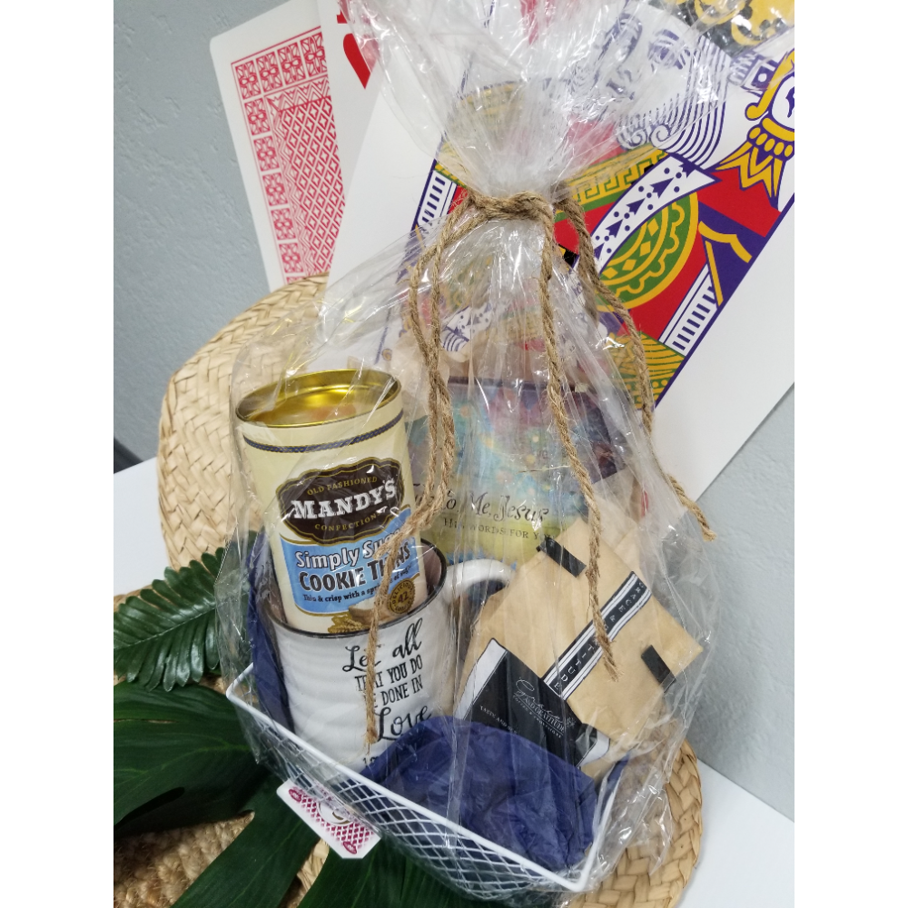 Coffee & time with Christ Basket
