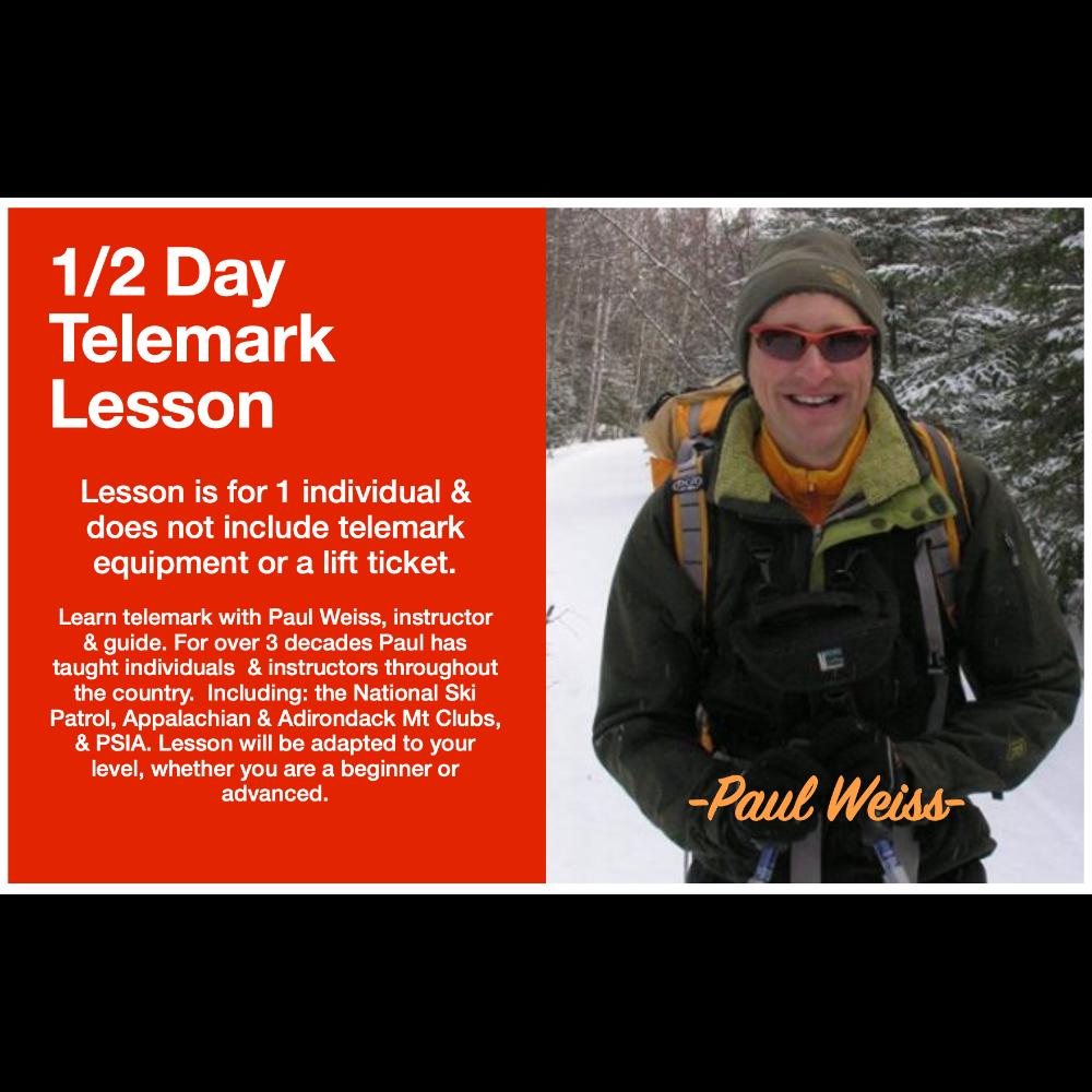 1/2 Day Telemark Lesson