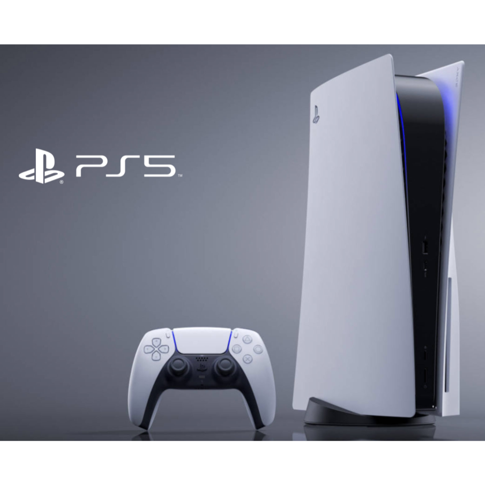 PlayStation 5 with Ultra HD Blu-Ray Disc Drive