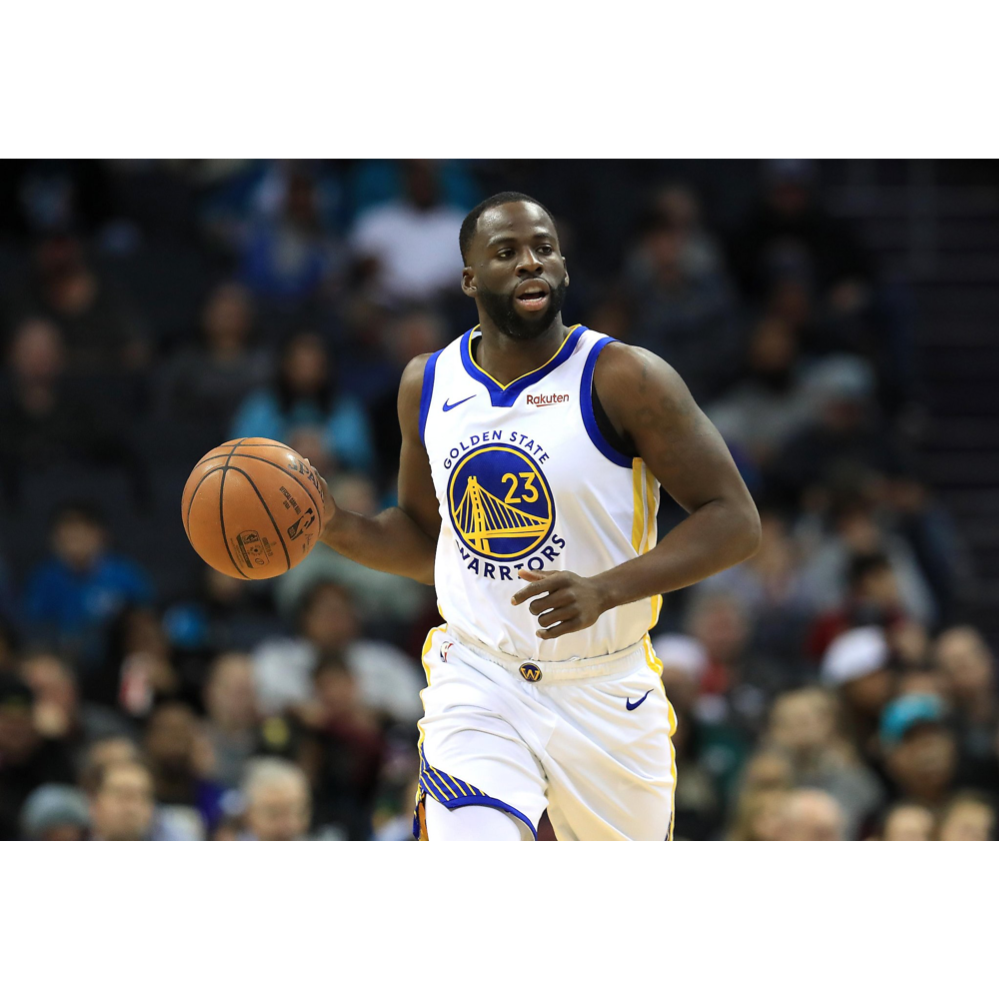 Any Warriors fan would LOVE this Draymond Green authenticated autographed photo