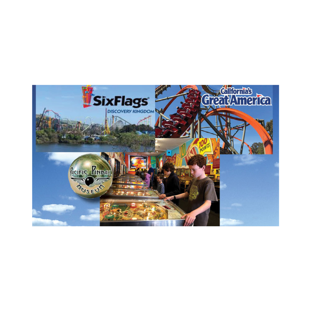 Theme Park Walkabout: Great America, Six Flags and Pinball!