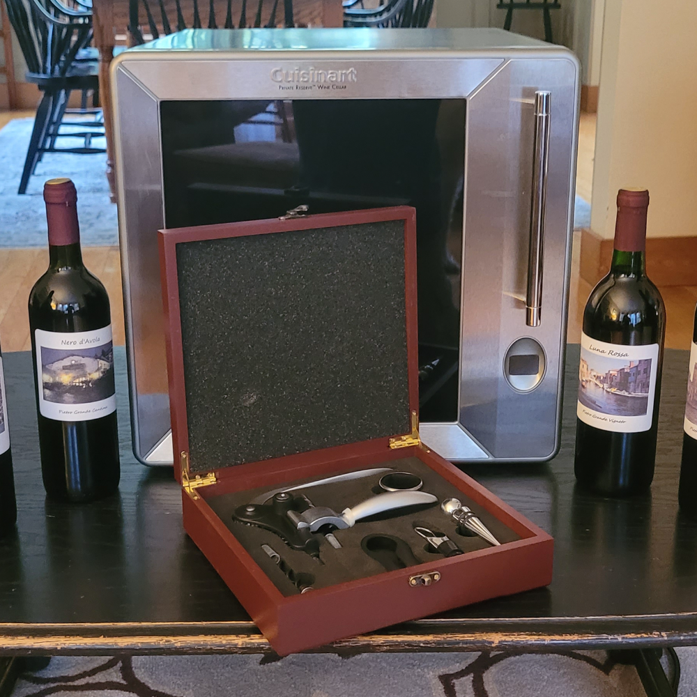 Holiday Wines & Cuisinart Wine Cellar Package