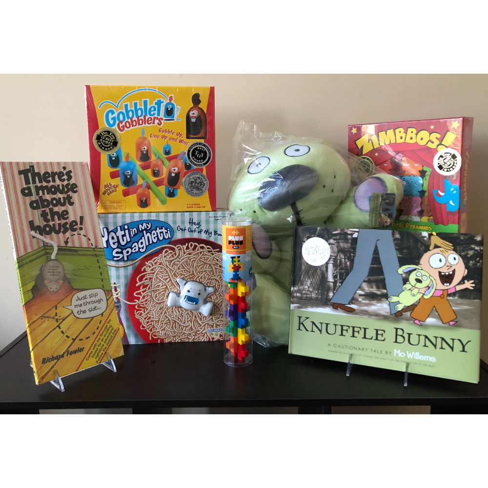 Knuffle Bunny & PreSchool Games Item Set