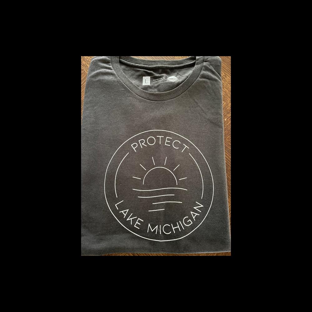 Protect Lake Michigan Cotton T-shirt - (Large)