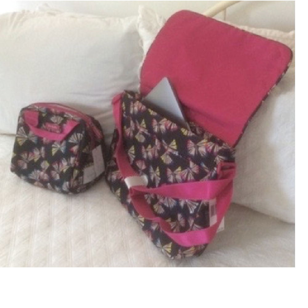 Vera Bradley Laptop and Lunch Cases