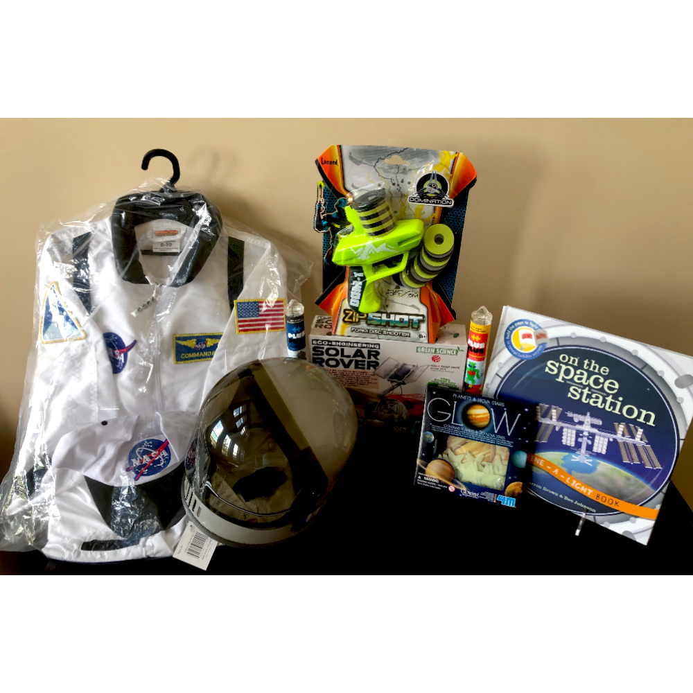Space Astronaut Costume & Toy Items