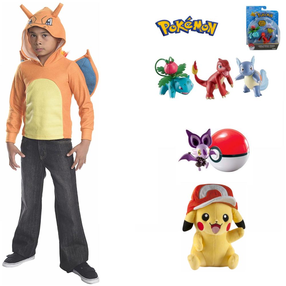 Pokemon Charizard Hoodie Costume & Toy Items