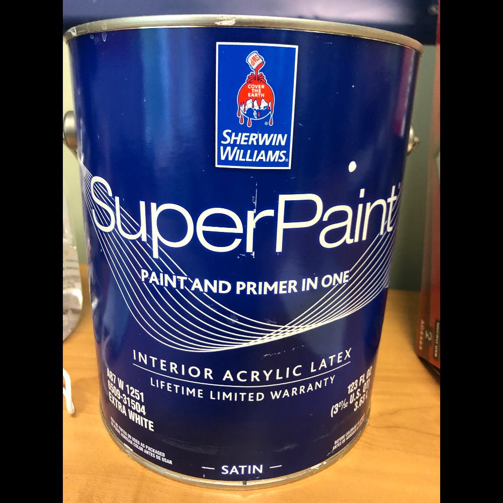 1 Gallon of Super Paint