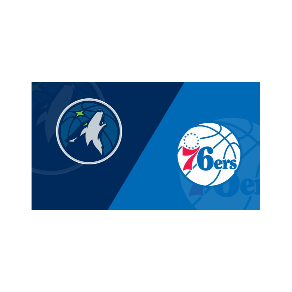Two (2) Tickets - 76ers v. Timberwolves - 11/27