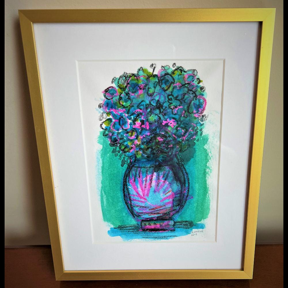 Make a House of Flowers with a Gregor original