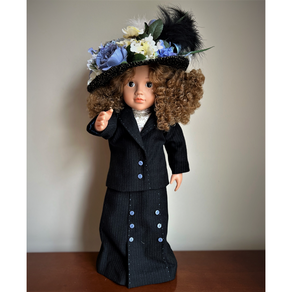 """American Girl Doll Outfit - """"I've Grown Accustomed to Her Face"""""""