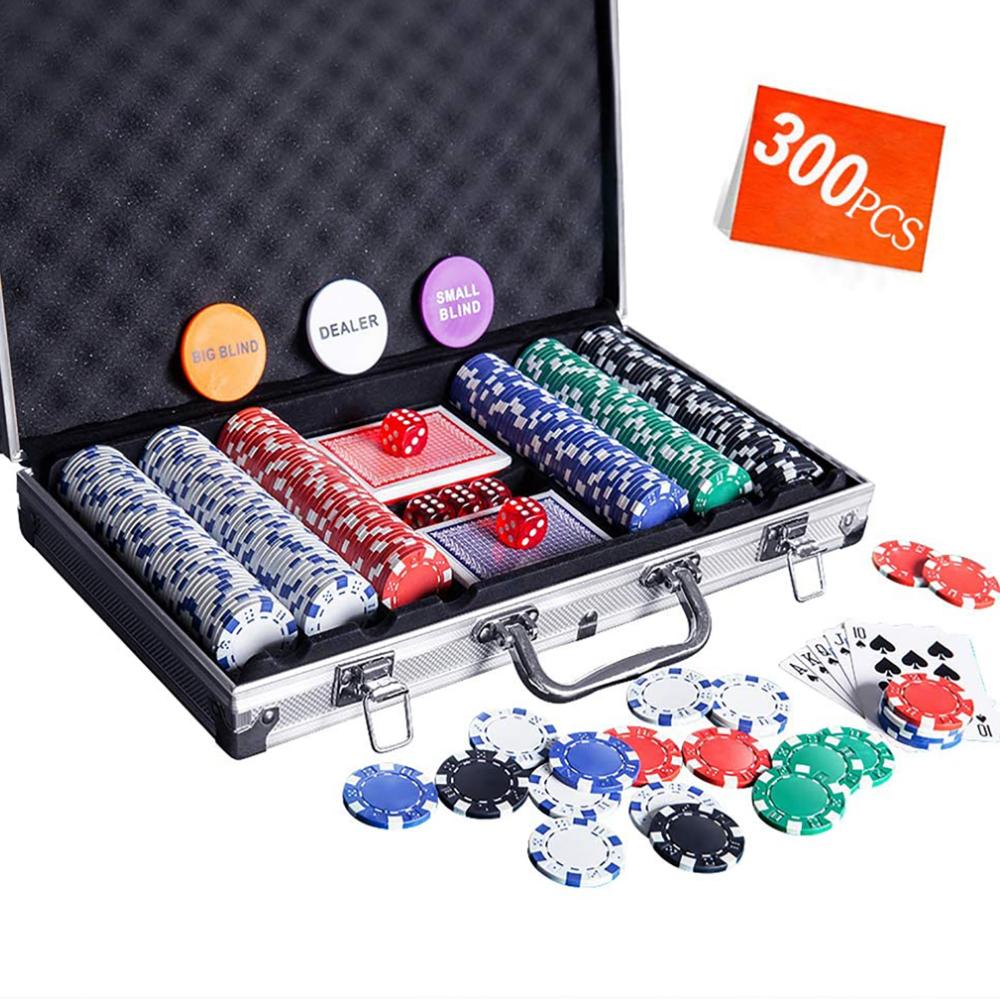 300 Piece Casino Poker Chip Set