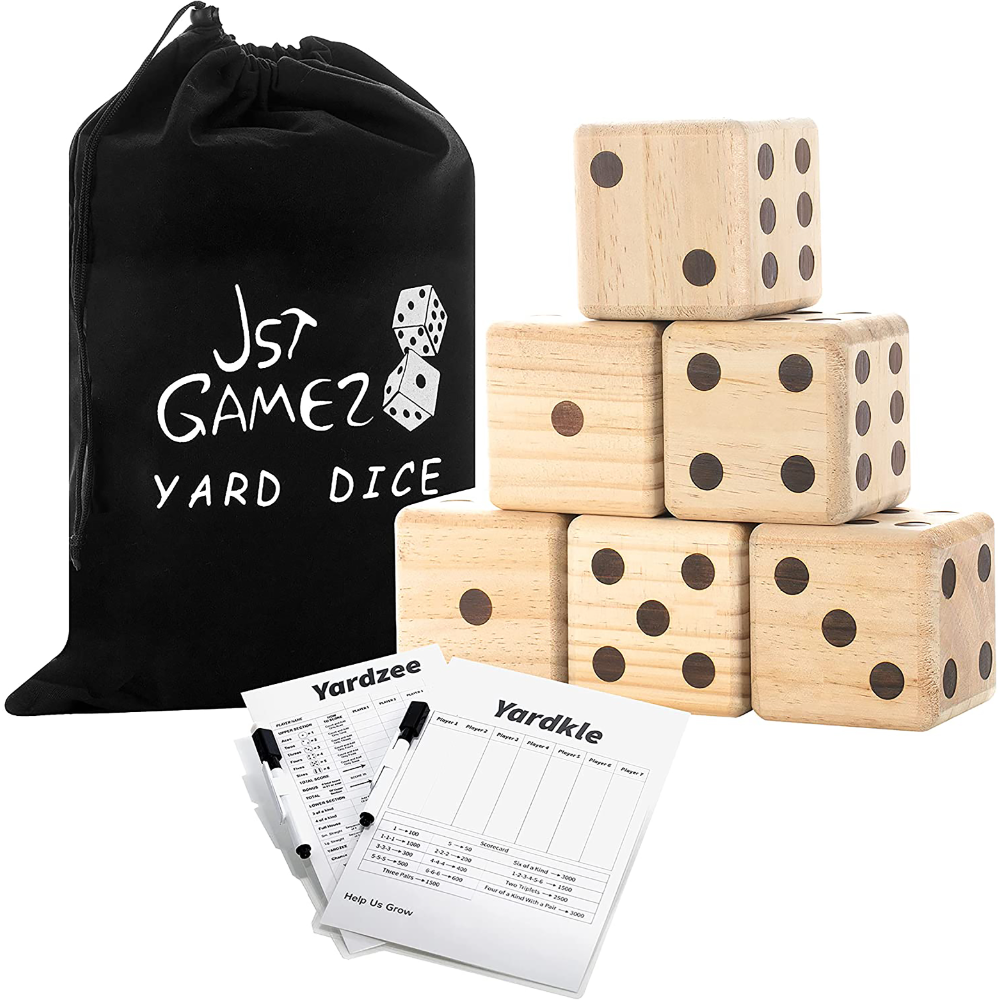Giant Yard Dice Yahtzee Game